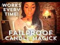 Fail Proof Powerful Candle Magick 🔥🕯💫  Hint Watch The Candle Flame