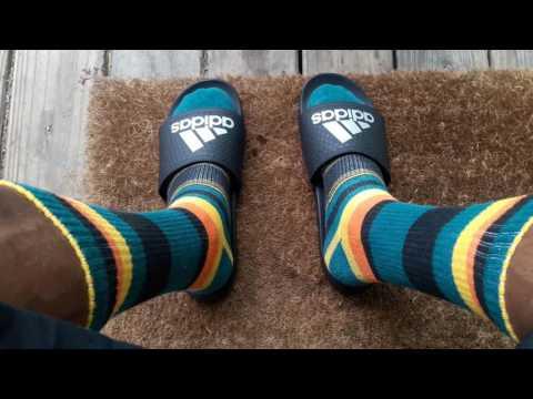 125af3cdca675d Adidas Flip Flops And Socks   Socks Flip Flops