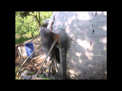 Concrete Block Dome House - Slide Show