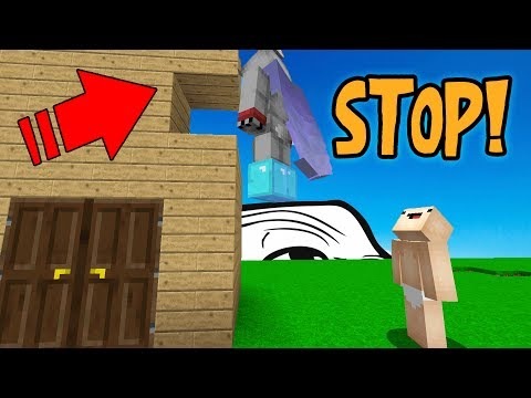CONTROLLING PLAYER TO GRIEF FRIENDS HOUSE! (Minecraft Trolling)