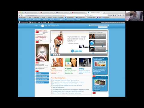 How to navigate your beachbody website!