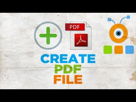 How to Create PDF File | How to Make a PDF Document