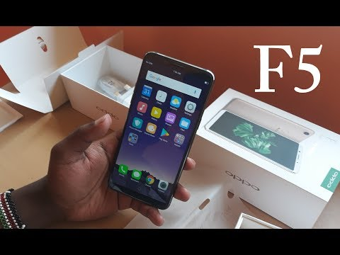 Oppo F5 Unboxing and First Impressions