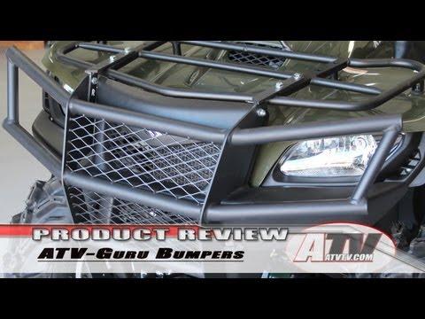 ATV Television - ATV-Guru Suzuki King Quad Bumpers