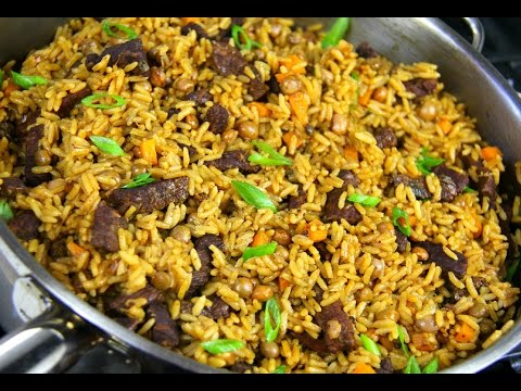 Tasty Beef Pelau #TastyTuesdays | CaribbeanPot.com