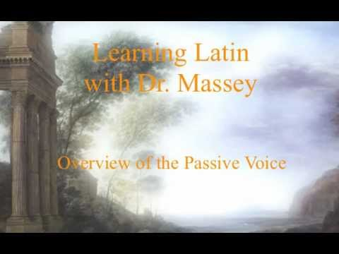 Overview of the Passive Voice