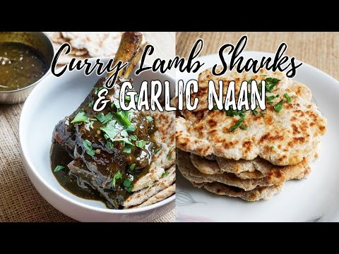 Curry Lamb Shank Recipe with Garlic Naan | Keto Indian Recipes!!