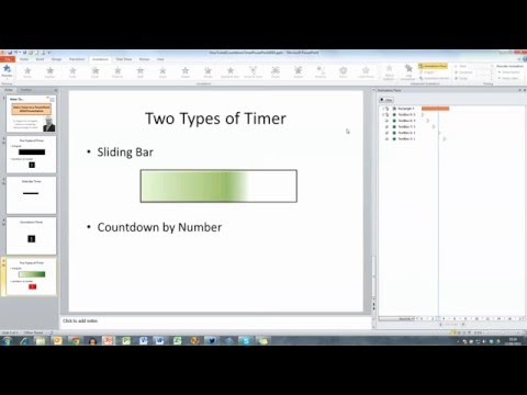 How To... Add a Timer to a PowerPoint 2010 Presentation