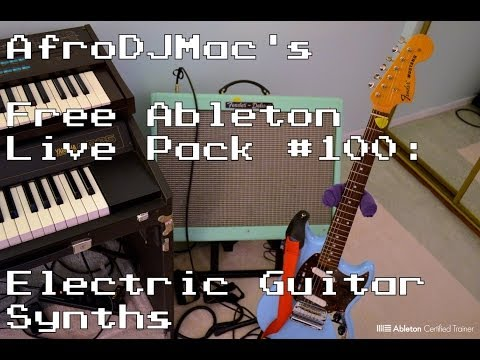 Free Electric Guitar Synths for Ableton Live