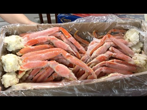Snow Crab Legs Feast - Christmas Dinner Preview