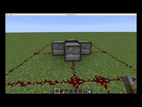 How to build a TNT Fireworks Display (Design 2) - Being a Redstonian - Minecraft