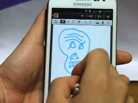 Samsung GALAXY Note Premium Suite - S note animation funtion -2