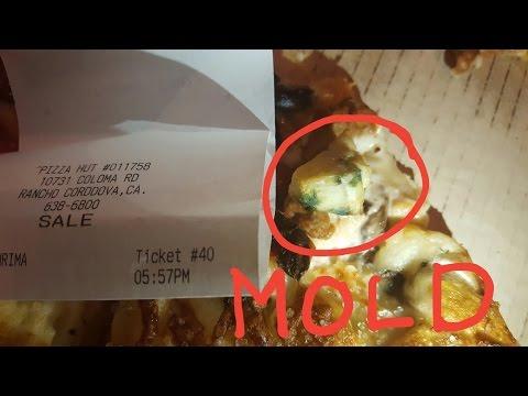 Mold on my Pizza Hut pizza!