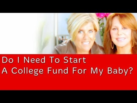 Do I Need To Start A College Fund For My Baby? | Suze Orman
