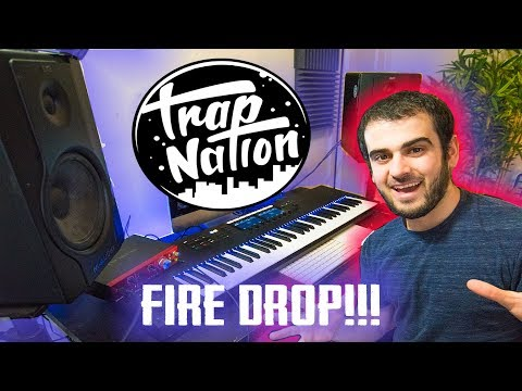 MAKING A HARD DROP FOR TRAP NATION