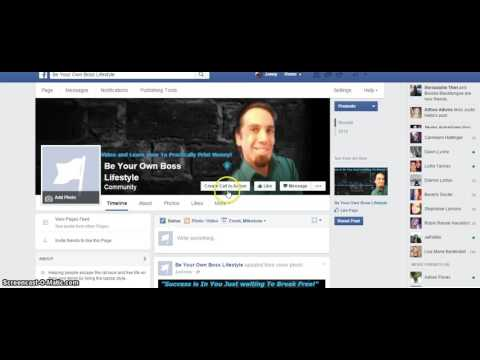 How to Create A Facebook Fan Page 2016 | Part 1