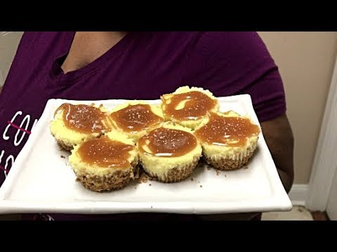 SoulfulT How To Make Salted Caramel Cheesecake Bites