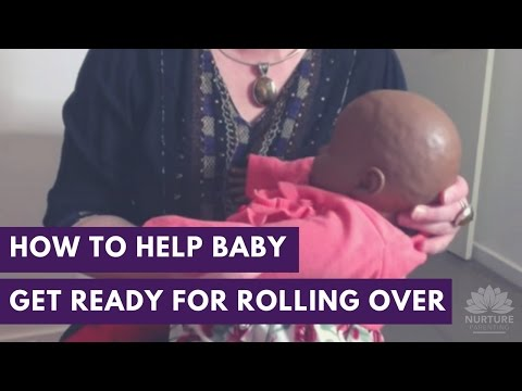 How to Help Your Baby Get Ready for Rolling Over
