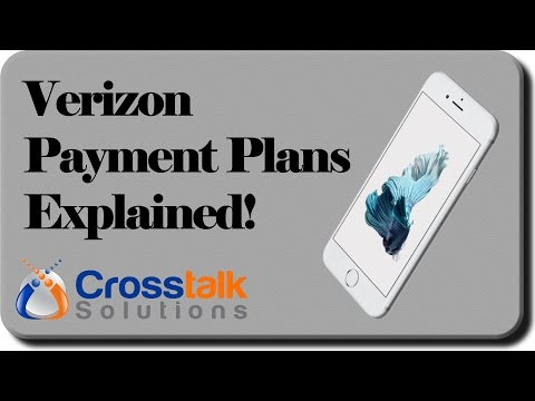 Verizon Payment Plans Explained