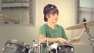 Justin Bieber Drums,rapping and guitar version 2