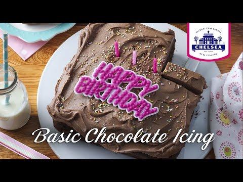 Basic Chocolate Icing