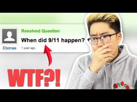 Reading the DUMBEST Questions Ever!