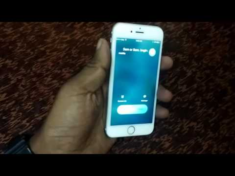 How to reject/Decline call in iphone 6/6s/5/5s