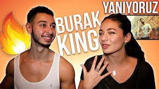 Burak King - Yanıyoruz Turkish Song Reaction | Jay & Rengin