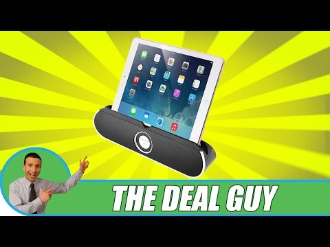 🔈 The Best Bluetooth Wireless Speaker Dock ◄ Suits any Tablet or phone review