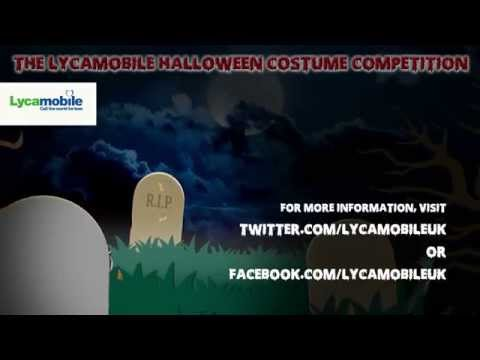 Lycamobile UK - Halloween Costume Competition 2014