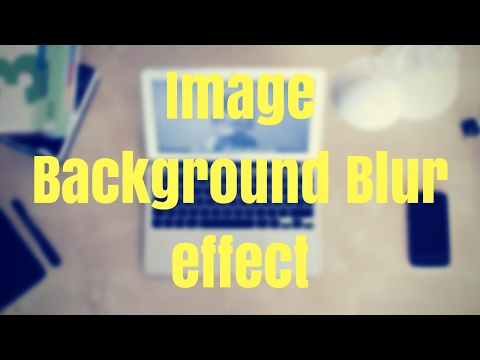 How to Blur an Image Online and Overlay Text For free