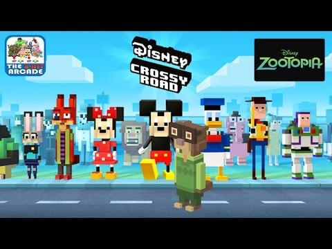 Disney Crossy Road - Mr. Otterton From Zootopia (iOS/iPad Gameplay)