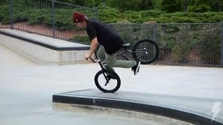 BMX - Stevie Churchill & Devon Smillie @ Brooke Run Skatepark