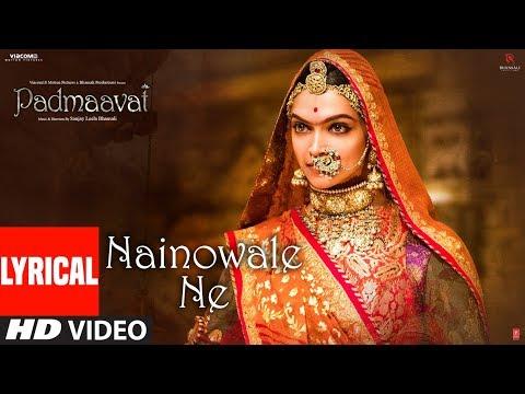 Xxx Mp4 Padmaavat Nainowale Ne Lyrical Video Song Deepika Padukone Shahid Kapoor Ranveer Singh 3gp Sex