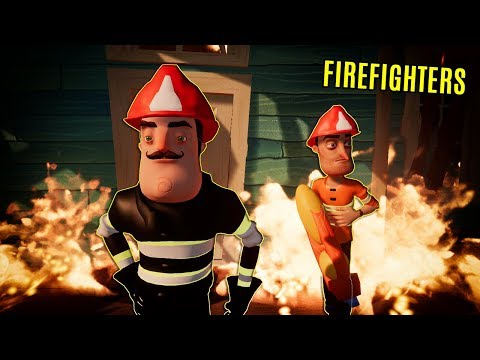 HELLO NEIGHBOR FIREFIGHTERS | Hello Neighbor Mod