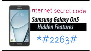 how to unlock Samsung ON 5 SM S550TL to use with other carrier 2017