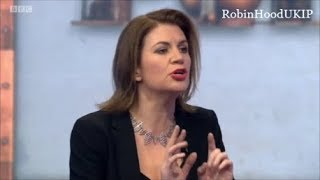 Julia Hartley Brewer will not let BBC presenter spread fake news