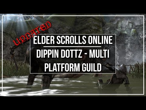 ESO Dippin Dottz Guild - Info, Discord and Ranking System