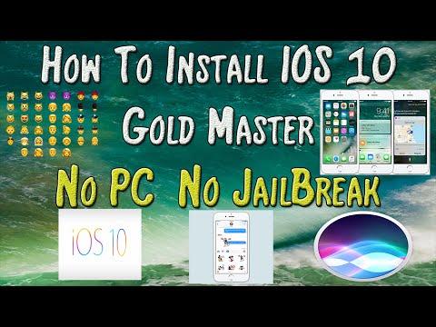 How To Get IOS 10 NO DEVELOPER ACCOUNT NO PC NO JAILBREAK *WORKING* 2016