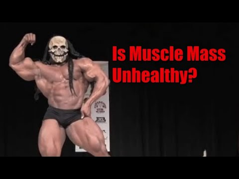 Is Large Muscle Mass Unhealthy? Longevity and Bodybuilding