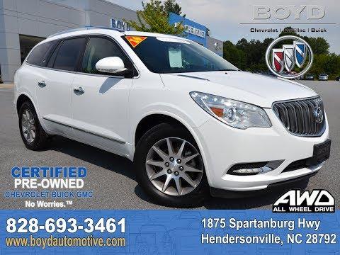 2016 Buick Enclave Hendersonville NC U7694