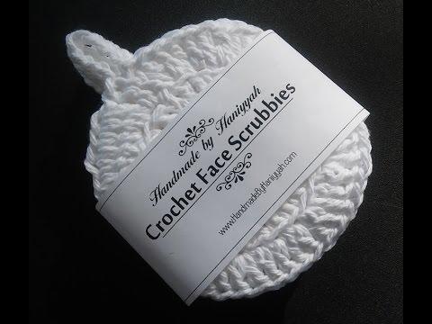 Vol 19 - Crochet Pattern  for Face Scrubbies