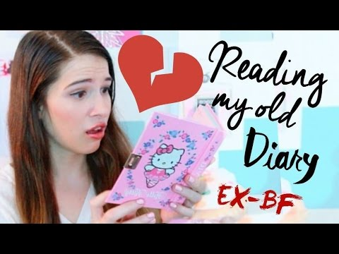 Reading My Old BREAK UP Diary! (EX-BOYFRIEND) 💀