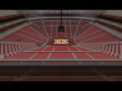 Minecraft Timelapse - Basketball Court