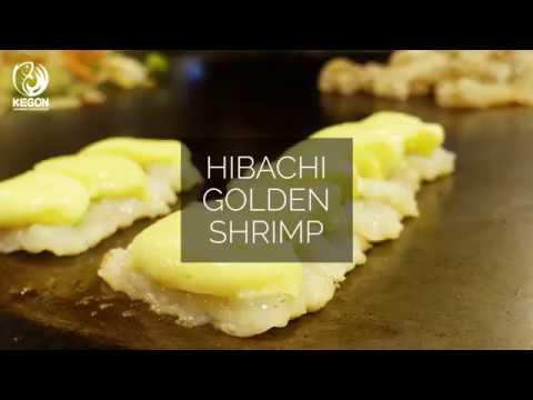 [Kegon Sushi & Teppanyaki] Hibachi Golden Shrimp