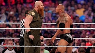 The Rock vs. Erick Rowan: WrestleMania 32