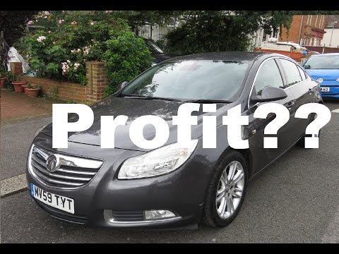 How to make money buying and selling cars - Wheeler Dealers Vauxhall Insignia Ep1
