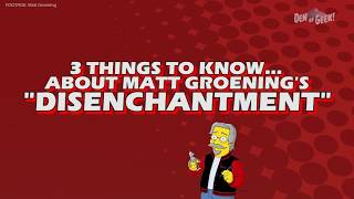 3 Things to Know About Matt Groening