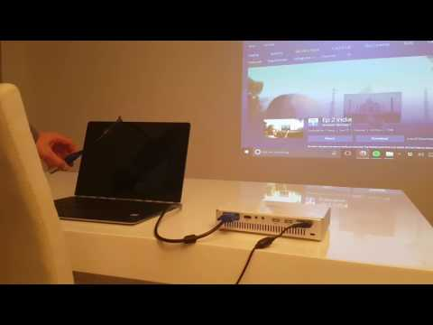 How to get Sky Go on a portable projector?