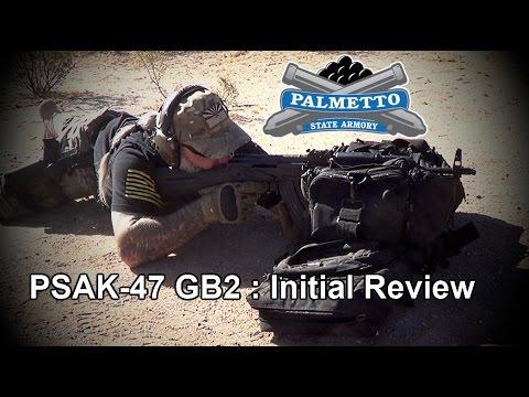 PSAK-47 GB2 - Palmetto State Armory AK-47 : Initial Review